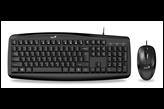 Tipkovnica + miš GENIUS SMART KM-200, crna, USB