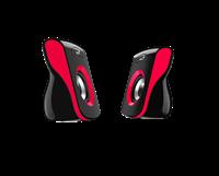 Zvučnici GENIUS SP-Q180, 2.0, USB, 6W, crveni