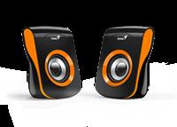 Zvučnici GENIUS SP-Q180, 2.0, USB, 6W, narančasti