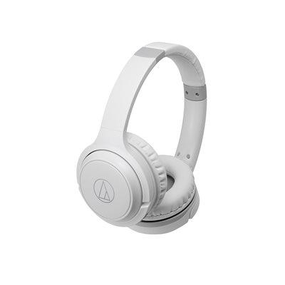 Audio slušalice AUDIO-TECHNICA ATH-S200BTWH, bluetooth, bijele