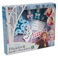Kreativni set DISNEY FRN61, Frozen II, Sparkle & Shine Nail Kit, set za nokte