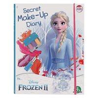 Kreativni set DISNEY FRN63, Frozen II, Secret Make-Up Diary, set za šminkanje