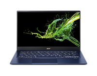 "Prijenosno računalo ACER Swift 5 NX.HHYEX.005 / Core i7 1065G7, 16GB, SSD 512GB, Iris Plus Graphics, 14"" IPS FHD Touch, Windows 10 Pro, plavo"