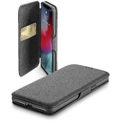 Futrola CELLULARLINE, za iPhone XR, magnetno zatvaranje, crna
