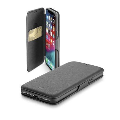 Futrola CELLULARLINE, za iPhone XS magnetno zatvaranje, crna