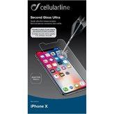Zaštitno staklo CELLULARLINE, za APPLE iPhone X