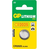 Baterija GP BATTERIES B1525, tip CR2025, 160 mAh, 5 kom