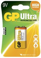 Baterija GP BATTERIES Ultra B1951, tip 6LF22, 9V
