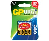 Baterija GP BATTERIES Ultra Plus B1711, tip AAA, 4 kom