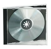 Kutija CD/DVD, crna (10 komada)
