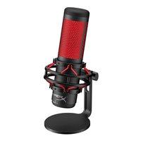 Mikrofon KINGSTON HyperX QuadCast HX-MICQC-BK, stolni, crno-crveni
