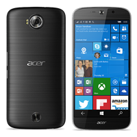 "Smartphone ACER Liquid Jade Primo 2016, 5.5"", 3GB, 32GB, Windows 10, crni"