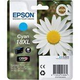 Tinta EPSON 18XL, C13T18124012, cijan