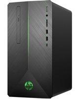 Računalo HP Pavilion 690-0004ny 5KT79EA / Core i3 8100, 8GB, 2000GB, GeForce GTX 1060 3GB, DOS, crno