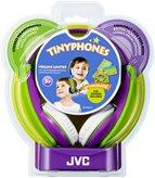 Slušalice JVC HA-KD5VEF, dječje, on-ear, ljubičasto/zelene