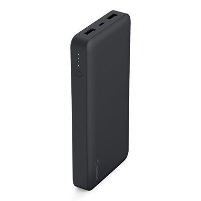 Mobilni USB punjač BELKIN Power Pack, 15.000 mAh, crni