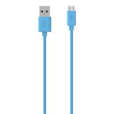 Kabel BELKIN, USB 2.0 (M) na micro USB-B (M), plavi, 2m