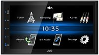 Auto radio JVC KW-M25BT, Bluetooth, USB, crni