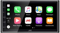 Auto radio JVC KW-M741BT, Bluetooth, USB, crni
