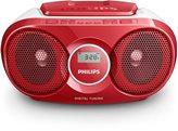 Radio budilica PHILIPS AZ215R/12, crvena
