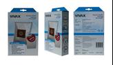 Vrećice za usisavač VIVAX HOME DB-2330MF, sint. (4kom/pak) + filter