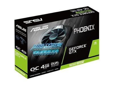 Grafička kartica PCI-E ASUS GeForce GTX 1650 SUPER OC Edition, 4GB GDDR6
