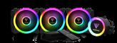 Vodeno hlađenje GAMDIAS CHIONE P2-360R, s. 2066/2011-v3/2011/1151/1150/1155/1156/1366/775/AM4/AM3+/AM3/AM2+/AM2/FM2+/FM2/FM1, RGB