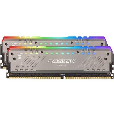 Memorija PC4-25600, 16 GB, CRUCIAL Ballistix Tracer RGB BLT2K8G4D32AET4K, DDR4 3200MHz, kit 2x8GB
