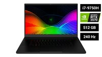 "Prijenosno računalo RAZER Blade 17 Pro / Core i7 9750H, 16GB, 512GB SSD, GeForce RTX 2070 8GB, 17"" 240Hz FHD, Windows 10, crno"