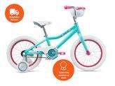 Dječji bicikl GIANT Adore C/B, kotači 16˝, plavo/rozi