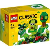 LEGO 11007, Classic, Kreativne zelene kocke