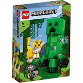 LEGO 21156, Minecraft, Bigfig creeper i ocelot