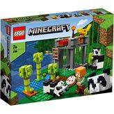 LEGO 21158, Minecraft, Vrtić za pande