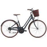 Ženski bicikl GIANT Flourish 2 S, Shimano Altus, crni