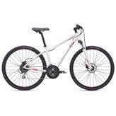 Ženski bicikl GIANT Rove 3 DISC DD GE M, Shimano Tourney/Acera, bijeli