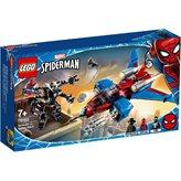 LEGO 76150, Marvel Super Heroes, Spiderjet protiv mahaničkog Venoma