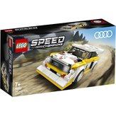 LEGO 76897, Speed Champions, 1985 Audi Sport Quatro S1