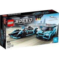LEGO 76898, Speed Champions, Formula E Panasonic Jaguar Racing Gen2 C