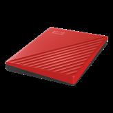 "Tvrdi disk vanjski 2000 GB WESTERN DIGITAL My Passport WDBYVG0020BRD-WESN, USB 3.2, 5400 okr/min, 2.5"", crveni"
