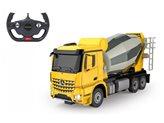 Kamion na daljinsko JAMARA miješalica Mercedes Arocs, žuti, 1:24