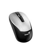 Miš GENIUS ECO-8015, BlueEye, 1600dpi, USB, bežični, srebrni