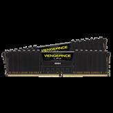 Memorija PC-25600, 32 GB, CORSAIR CMK32GX4M2D3200C16 Vengeance LPX Black, DDR4 3200Mhz, 2x16GB kit