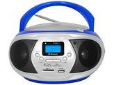 Prijenosni CD radio uređaj TREVI CMP 548, bluetooth, USB, CD, plavi
