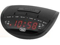 Radio budilica TREVI RC 825D, crna