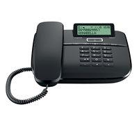 Telefon Gigaset DA611, žičani, crni