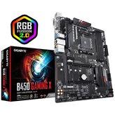 Matična ploča GIGABYTE B450 Gaming X, AMD B450, DDR4, ATX, s. AM4
