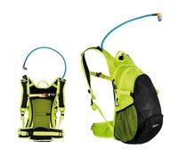 Biciklistički ruksak SOURCE Air Fuse 3+9L Hydrapack, crno/žuti