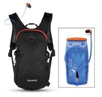 Biciklistički ruksak SOURCE Fuse 3+9L Hydrapack, crni