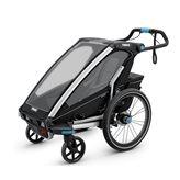 Dječja kolica THULE Chariot Sport, crna za jedno dijete, kolica/prikolica za bicikl