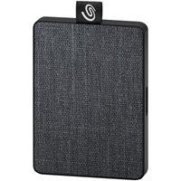 SSD vanjski 500 GB SEAGATE External One Touch, STJE500400, 400 MB/s, USB 3.0, crni